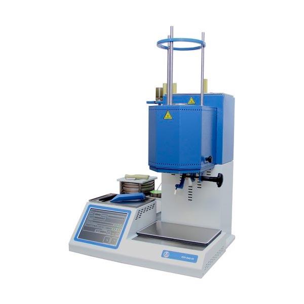 Прибор для определения показателя текучести расплава термопластов ПТР-ЛАБ-02