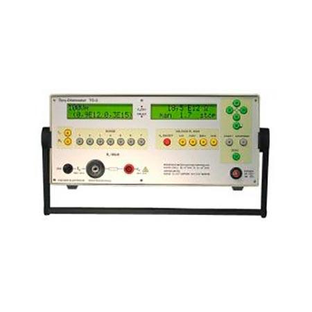 Прибор для определения электрического тока, объемного и поверхностного сопротивления материалов Tera-Ohmmeter ТО 3